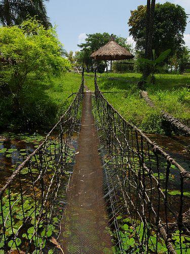 Nsele bridge (by Nick Hobgood)  Nsele, Democratic Republic of Congo