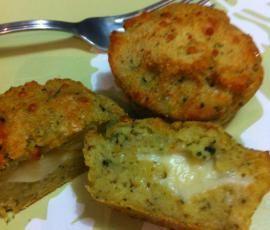 Ricetta Muffin di melanzane con sorpresa bimby