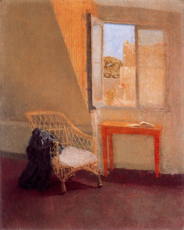 Cave to Canvas, Gwen John, A Corner of the Artist's Room in Paris,...