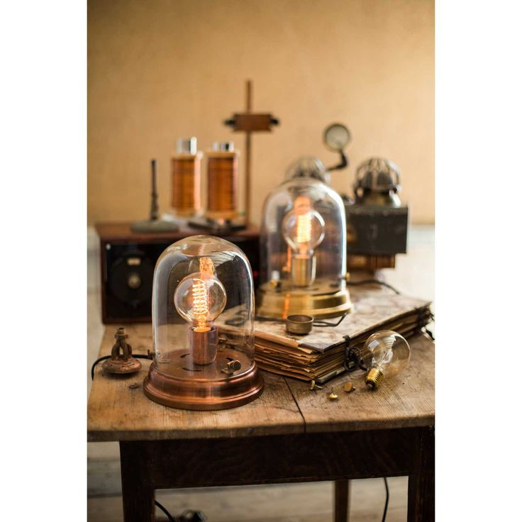 Edison table lamp brass – Watt & Veke #interior #design