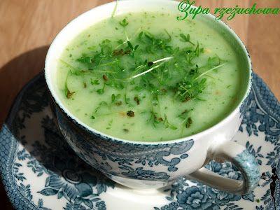 pysznie i dietetycznie!: Zupa rzeżuchowa