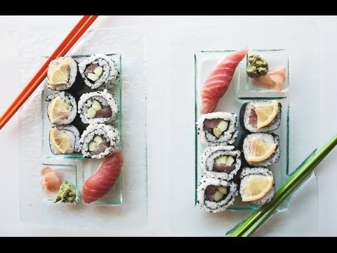Finally - learn How to make sushi rolls. We love to go out and have sushi as a treat. Here we show you how easy it is to roll sushi in your own home. It is an entertaining favorite with our family. We encourage you to have fun and give it a try! | SEE Salt