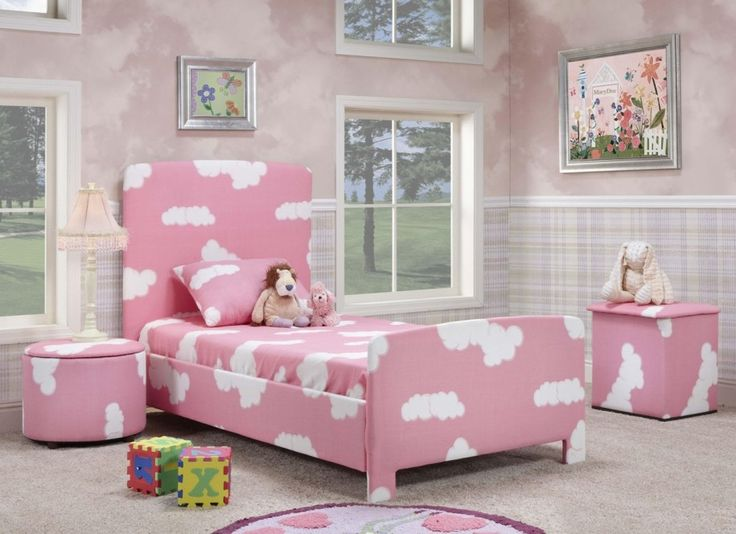 cute girl bedroom faux painted wall backdrop checker bottom walls
