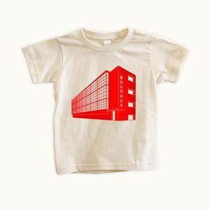 "Tiny Modernism ""Bauhaus"" organic kids shirt. American Apparel $25"