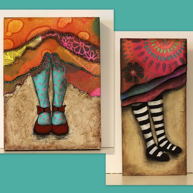 Las 25 mejores ideas sobre cuadros juveniles en pinterest - Manualidades faciles cuadros ...