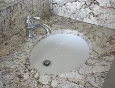 Undermount Bathroom Sink With Granite 26 best undermount bathroom sinks images on pinterest | bathroom