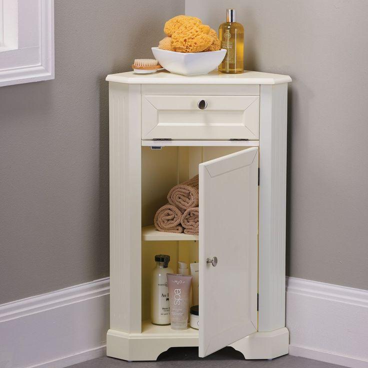Weatherby Bathroom Corner Storage Cabinet | Bathroom ...
