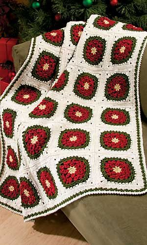 Winter Blooms Blanket by Heather Prusia