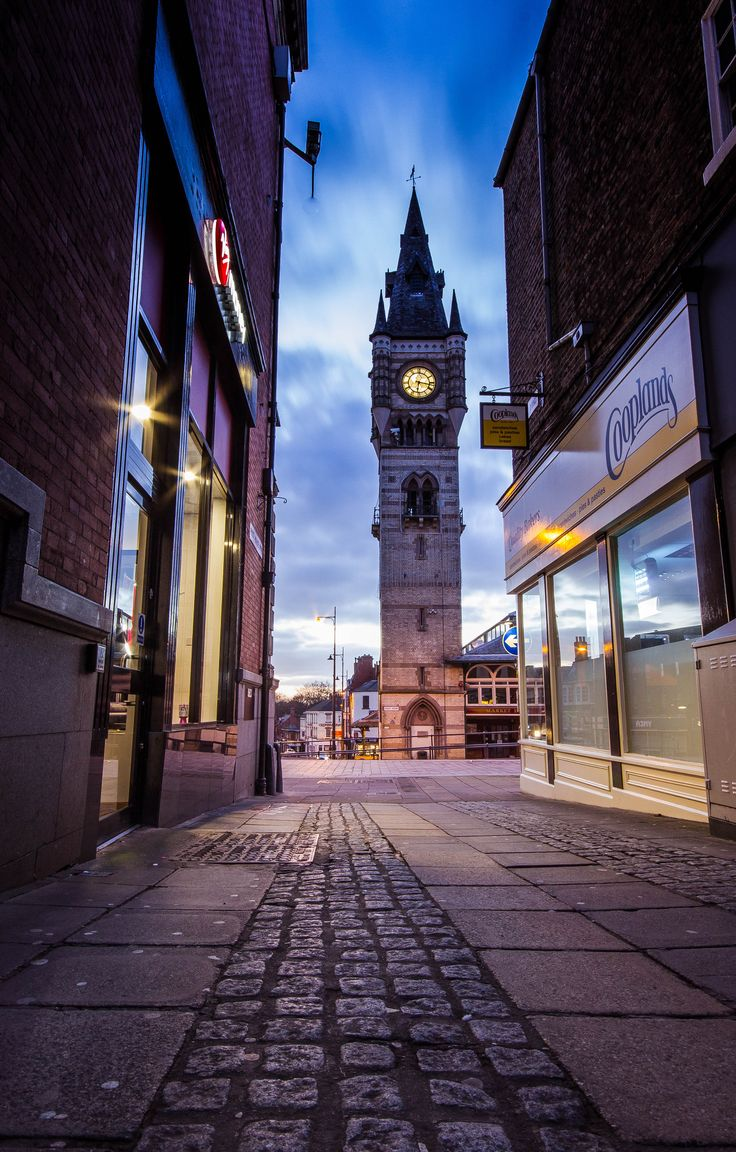 6:15 In The Wynd. Taken in Post House Wynd, Darlington, County Durham on 10/03/2015 by Mike Atkinson Photography.
