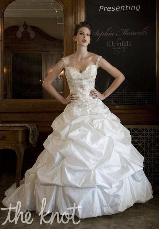 Kleinfeld wedding gown