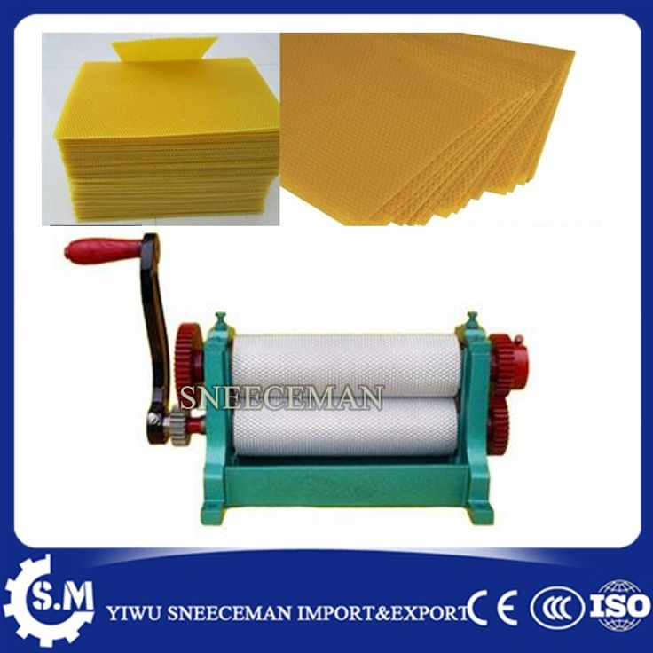 657.00$  Buy now - http://ali06w.shopchina.info/1/go.php?t=32813745076 - 86*310mm Manual Bee Nest embossing bee wax machine chinese cheaper beeswax flat sheet machine for beekeeping  #shopstyle