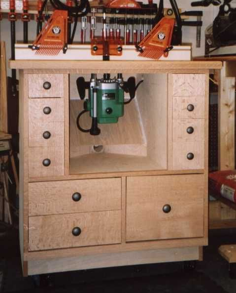 GDS Woodworking: NYW Router Table