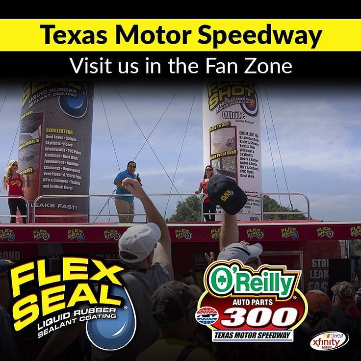 This weekend the Flex Seal team is taking over Texas Motor Speedway. Visit our Facebook event page for more details on how you can find us! http://ift.tt/1RO7IFY   #texasmotorspeedway #nascar #musclecar #hotrod #flexseal #flexshot #racecar #weloveflexseal #motorsports #2016 #beautifulday #awesome #saturday #leakfree #philswift #getflexseal #flexsealracing #tracklife