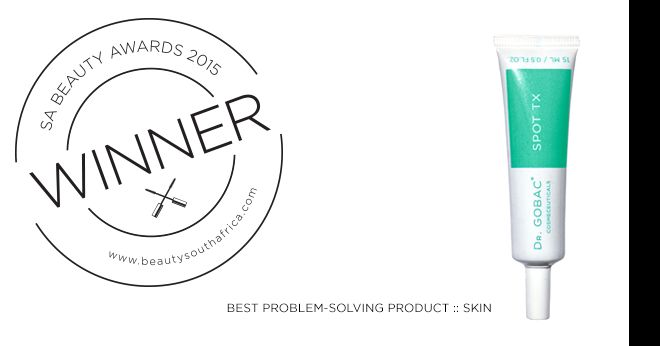 BeautySouthAfrica.com Winner Best Problem Solving Product #DrGobacCosmeceuticals  Congratulations!