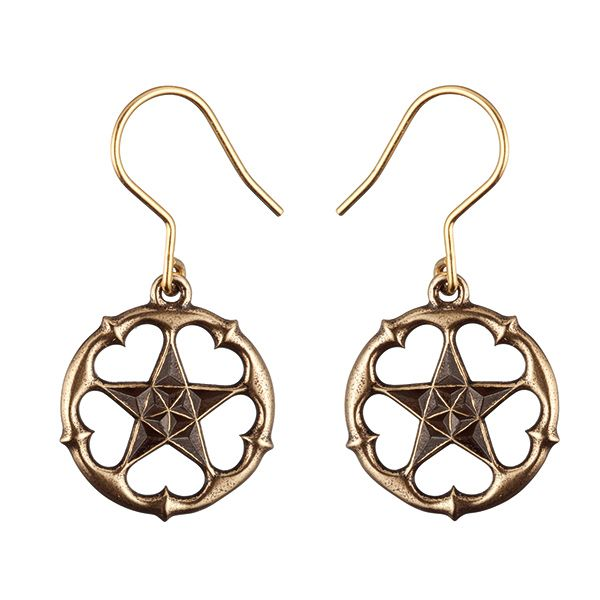 """MICHAEL MONROE A STAR ALL HEART EARRINGS  """"Throughout all the years of my life and career, the most important thing to me has always been that I will not harden my heart or lose my soul, for any price. Truth, Love and Compassion are above everything else, and as a """"Star"""" I want to shine positive energy and light into the hearts of everyone around the world."""" - Michael Monroe"""
