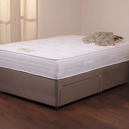 Chatsworth Latex Firm Mattress and Sprung Edge Divan Set with Two Drawers