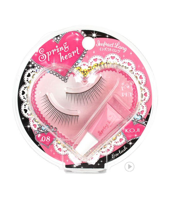 Spring Heart Eyelash 08 Impact Long