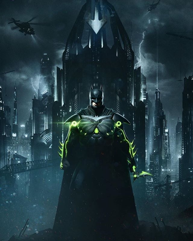 Injustice 2 Batman!