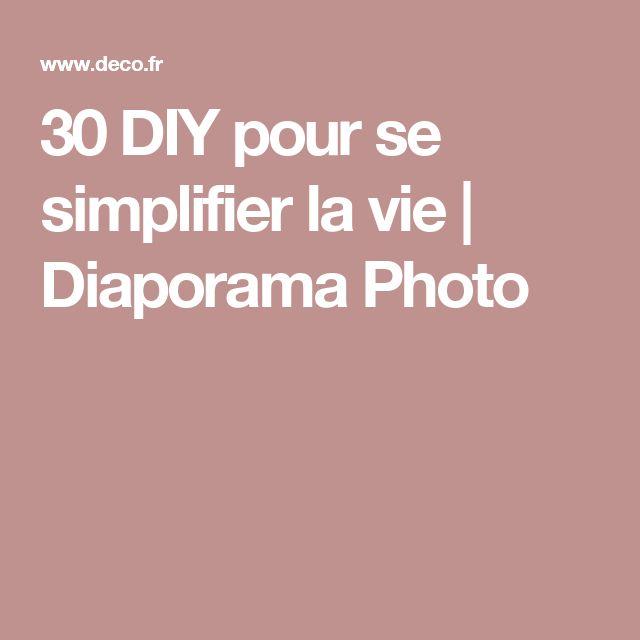 30 DIY pour se simplifier la vie | Diaporama Photo
