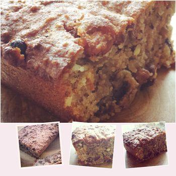 amandelmeel cake/brood met noten