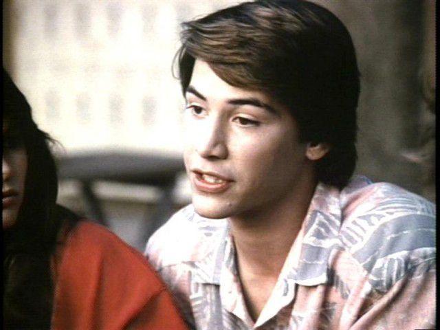 Keanu Reeves in the TV Movie 'Brotherhood of Justice' 1986