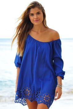 feminine beach cover up - Google Search