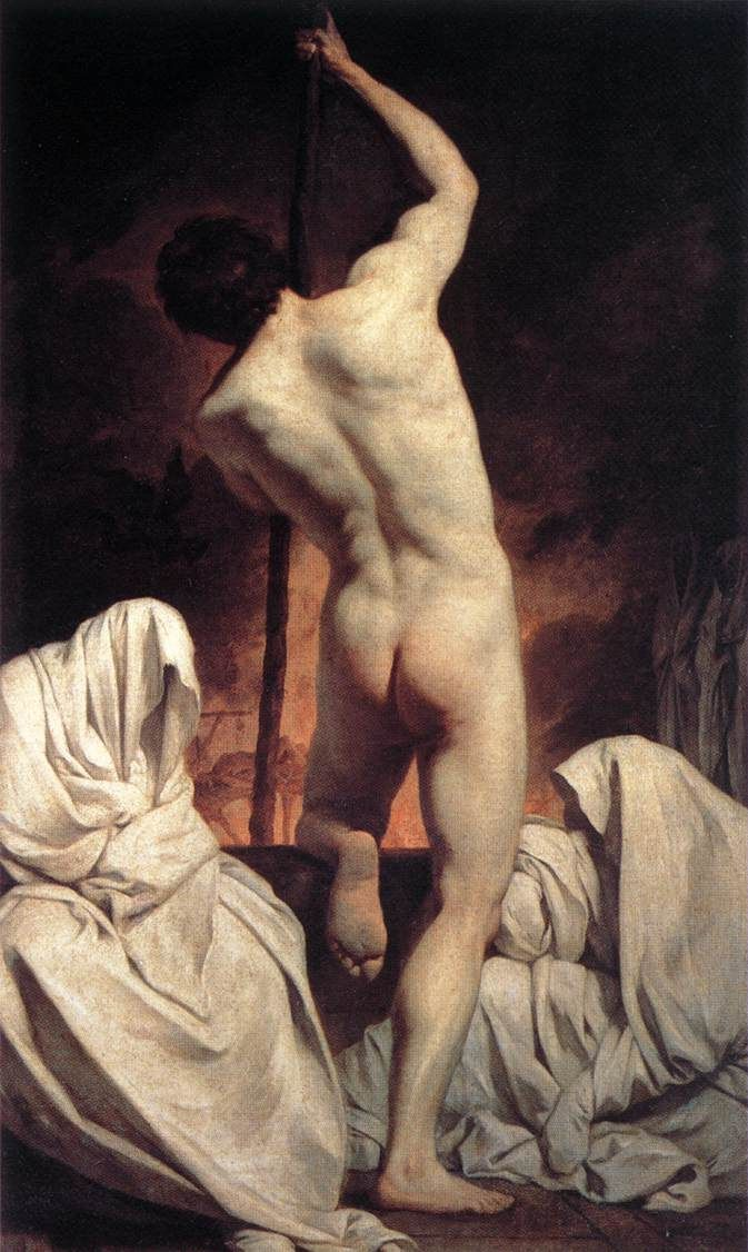Pierre Subleyras' Charon carrying the shades to Hades.    French Grand Prix winner who lived most of his life in Italy.: Passant Les, Inspiration Artworks, Shades, De Art, Male Nudes, The Shadows, Pierre Subleyra, Charon Pass, Charon Ferris