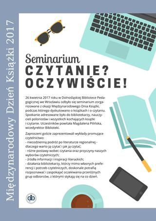 O czytelnictwie w Bibliotece - fotorelacja z seminarium