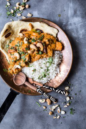 Creamy Cashew Indian Butter Paneer...with Fried Paneer-1