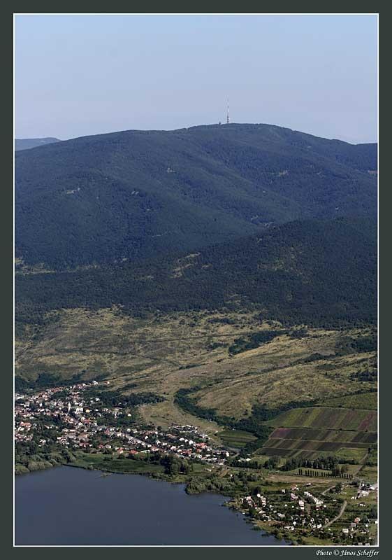 Mátra, view from Gyöngyös side