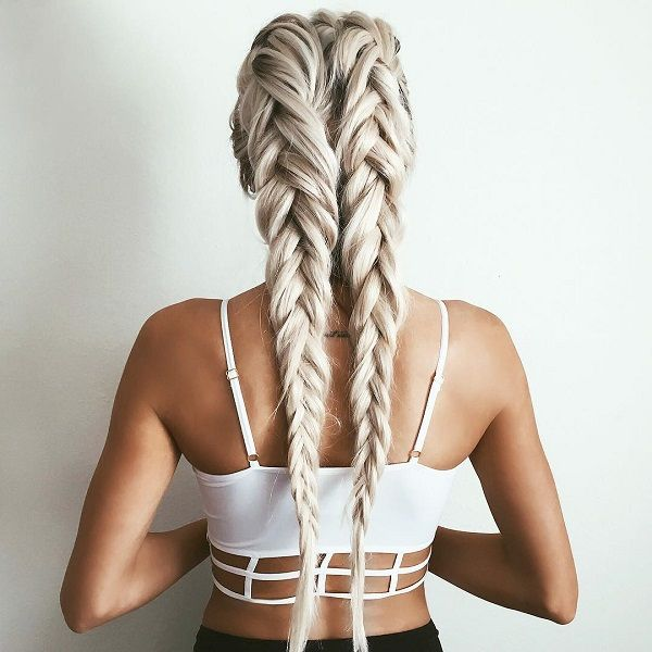 Astounding 1000 Ideas About Single Braids Hairstyles On Pinterest Braided Hairstyle Inspiration Daily Dogsangcom