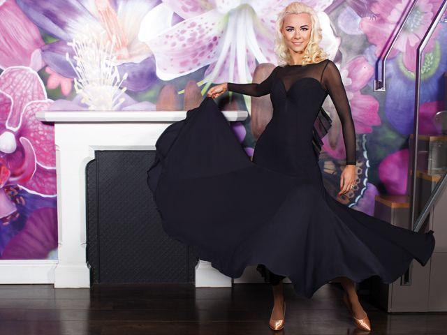 Ruffle Ballroom Dress