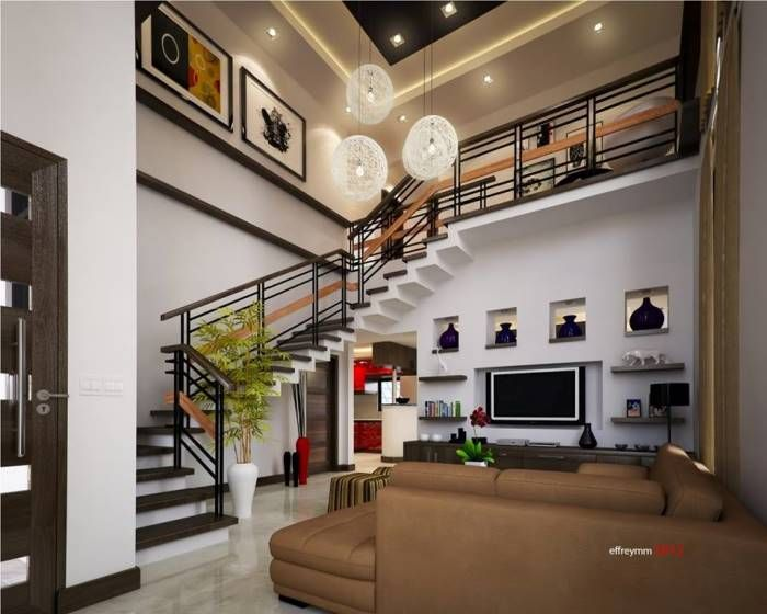 Live In Comfort And Luxury With This Two Story Residential House Plan Ulric Home Residential House Modern House Design Modern Houses Interior