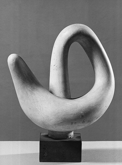 Jean Arp | Objet de reve a l'anse, 1941......I once grew a gourd that looked just like this