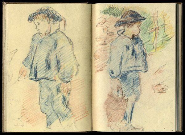 Paul Gauguin , sketchbook