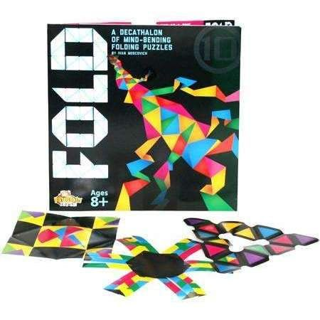 FOLD, A Decathlon of Mind Bending Folding Puzzles by Fat Brain Toy Co.