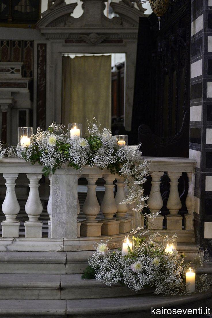 Allestimento in Chiesa. Wedding designer & planner Monia Re - www.moniare.com | Organizzazione e pianificazione Kairòs Eventi -www.kairoseventi.it| Foto Photo27