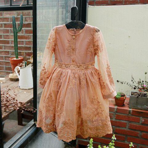 "The ""Harlow"" Dark Peach Lace Dress"