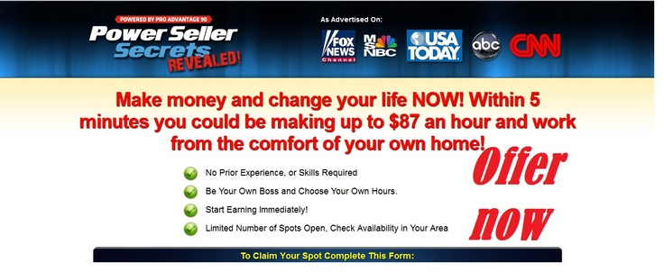 Based on your profile information, you have been selected to recieve our privat home income kit. Limited Availability.,