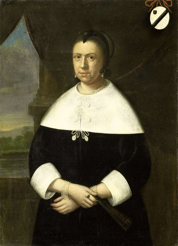Anonymous | Portrait of Maria Quevellerius, first Wife of Jan van Riebeeck, or…