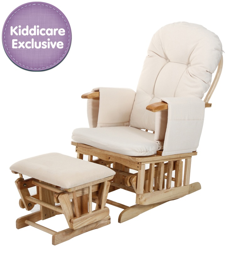 Buy your Baby Weavers Recline Glider & Stool reviews from Kiddicare Nursing Chairs  Online baby shop   Nursery Equipment