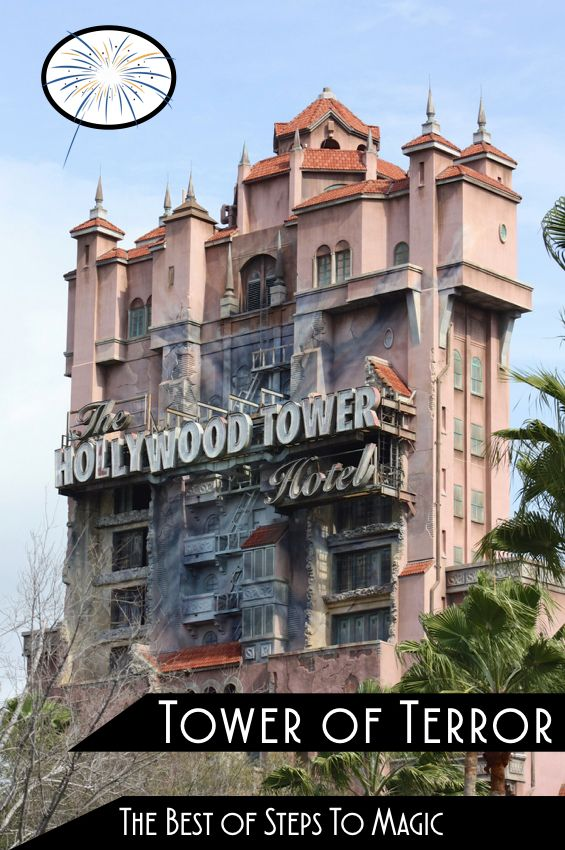 The Twilight Zone Tower Of Terror Also Known As Tower Of Terror Is An Accelerated Drop Tower Dark Ride At Disney S H Tower Of Terror Hollywood Tower Hotel Orlando Travel