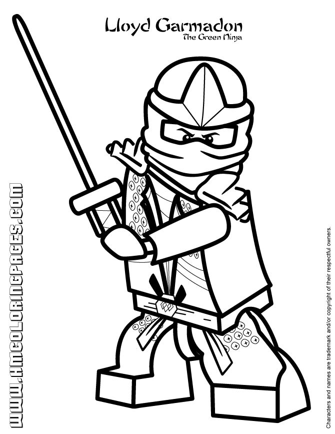 Ninja coloring pages in 2020 | Ninjago coloring pages ...