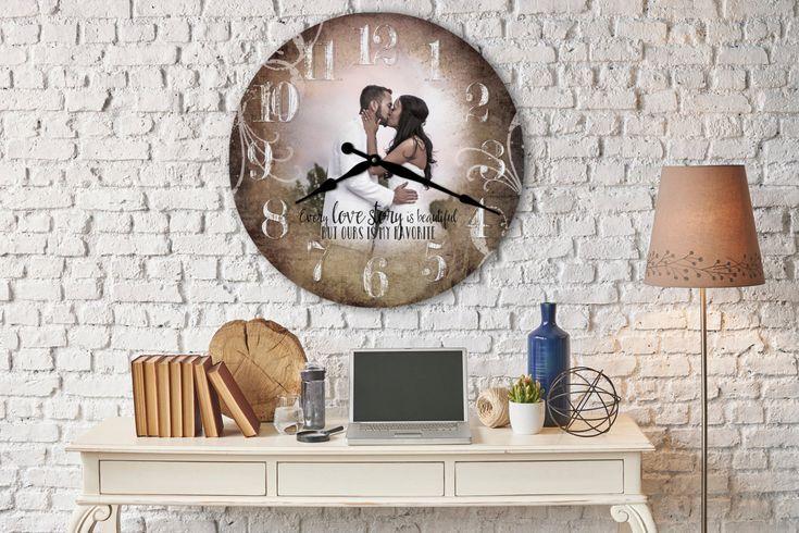 Clock Wedding Gift: 25+ Best Ideas About Photo Clock On Pinterest