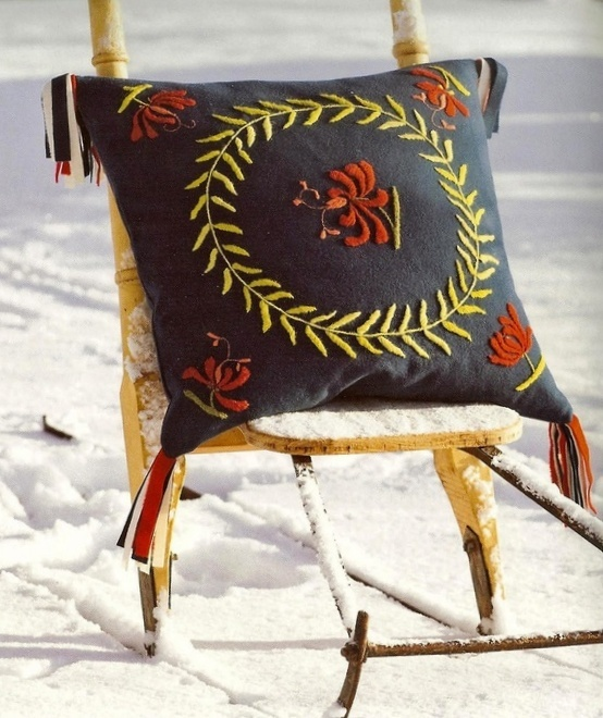 Pillow designed by Karin Larsson