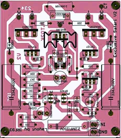 PCB Driver Power Safari Exclusive V2