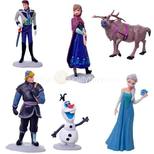 5Pcs Frozen Anime Action Figures PVC Model Toy Set - $20.69