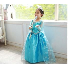 Elsa La Reine Des Neiges Robe Enfant