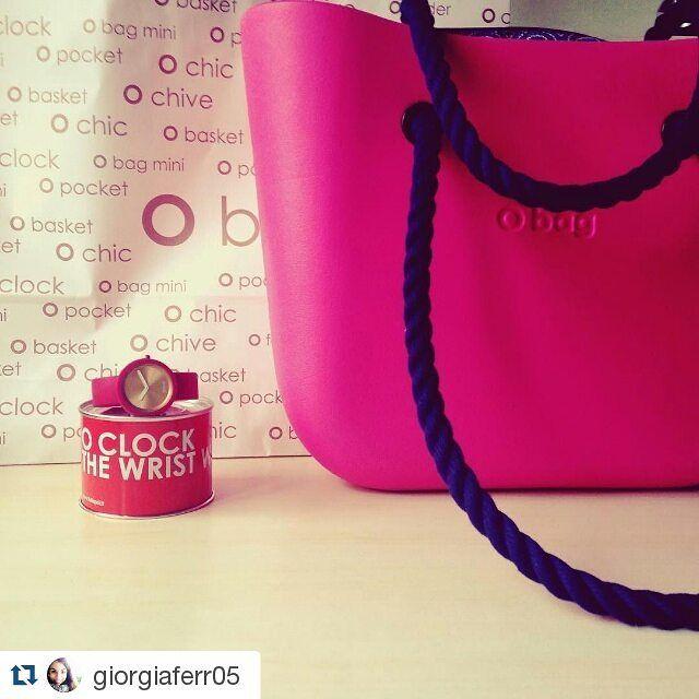 O bag LOVE  #Repost @giorgiaferr05 #Obag #Oclock #regali #sanvalentino
