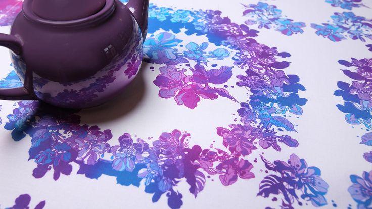 Kolejne dzieło stworzone przez DesignPolski - piękny i nietuzinkowy obrus :) http://www.designpolski.com